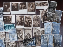Espagne  Lot 616 CPA x 2.30 kg postcards kerk Spain architecture-Barcelona Granada Iglesia Catedral Burgos Eglise