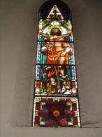 S.ROCCO - vetrata Chiesa S.Anna PIACENZA - fotografia
