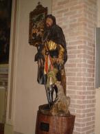 S.ROCCO - statua Chiesa S.Anna PIACENZA - fotografia