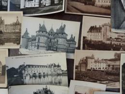 Hugh Geant Lot 1240 x cpa  Chateau Kasteel Kastelen France 5 kg old Castle Schloss
