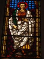 S.GERVASIO Martire  - vetrata Chiesa S.Francesco PIACENZA - fotografia