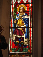 S.PROTASIO Martire  - vetrata Chiesa S.Francesco PIACENZA - fotografia