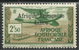 AFRIQUE EQUATORIALE FRANCAISE - AEF - A.E.F. - 1940 - YT PA 15** - MNH - Unused Stamps