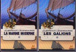«  Les Bateaux Légendaires » Coffret De 4 DVD (complet) - Ed History Channel (2009) - Bateaux