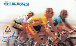 MALAYSIA(chip) - Cycling, Le Tour De Langkawi 2000, Telecom Malaysia Telecard RM20, Used