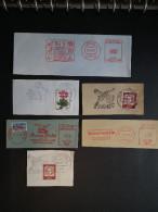 58 Freistempel Sonderstempel Postkarten Vögel Birds Aves AFS EMA - Vögel