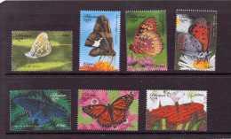 BHOUTAN 1999  PAPILLONS  YVERT N°1380/86  NEUF MNH** - Schmetterlinge