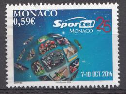 MONACO 2014 Mi.nr.:3202 Kongress Für Sport Und Fernsehen  OBLITÉRÉS / USED / GESTEMPELD - Gebraucht
