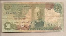 Angola - Banconota Circolata Da 50 Scudi - 1972 - Angola