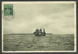 Finland - Ship ITÄMERELLÄ (E. Ahlskog) - Finlandia