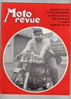 Moto Revue - N°2010 - Nouveautés Suzuki, Bultaco - Manx Tickle - Renzo Pasolini - Cross - Histoire Des Jawa-CZ - Florett - Auto/Motor