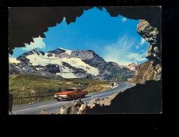 Al Passo Del Bernina Col De La Bernina 7710 Poschiavo  1972 Wagen American Oldtimer Car Voiture Américaine - GR Graubünden