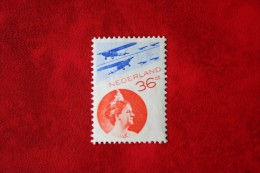 Luchtpostzegels Koningin Wilhelmina NVPH LP9 A LP 9 A (Mi 241b) 1933 Ongebruikt / MH NEDERLAND / NIEDERLAND - Poste Aérienne