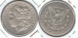 EE.UU USA DOLLAR MORGAN 1887 NEW ORLEANS PLATA SILVER - Bolivia