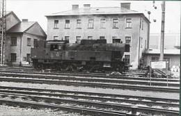 "Photo  Gare De GRAZ ""Locomotive Cliche Schnabel 1966 - Gares - Avec Trains"