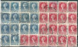 _4Zw-263: Restje Van 30 Zegels... Om Verder Uit Te Zoeken.. - 1891-1948 (Wilhelmine)