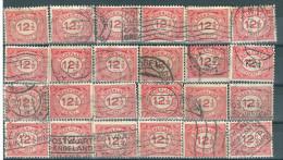 _4Zw-257: Restje Van 24 Zegels N° 108... Om Verder Uit Te Zoeken.. - 1891-1948 (Wilhelmine)