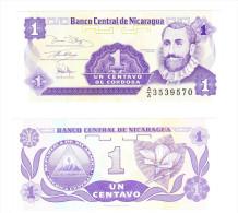 Nicaragua Un Centavo De Cordoba UNC - Nicaragua