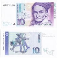 Germany 10 Mark 1991 UNC - 10 Deutsche Mark