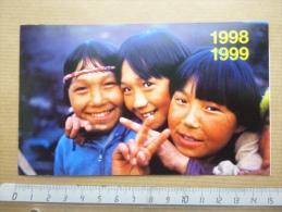 Calendrier 1998 1999 ONG Enfance Missionnaire - Calendarios