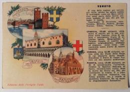 Regione Veneto Edizione Delle Pastiglie Valda  Retro Pubblicità F.g. Illustrata Non Viaggiate In Ottimo Stato - Non Classificati