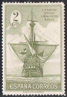 Spain SG595 1930 Columbus 2c Mounted Mint - Unused Stamps