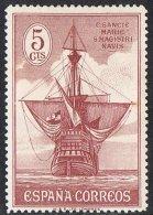 Spain SG597 1930 Columbus 5c Mounted Mint - Unused Stamps