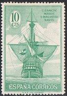Spain SG598 1930 Columbus 10c Mounted Mint - Unused Stamps