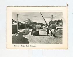CLAVIERE,confine Italo-Francese-1958-DOGANA-Auto-CAR-!!!!!!! - Italie
