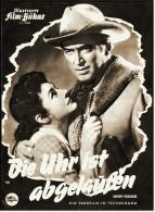 """Illustrierte Film-Bühne  -  """"Die Uhr Ist Abgelaufen""""  -  Mit James Stewart  -  Filmprogramm Nr. 4088 Von Ca. 1957 - Magazines"""