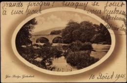 Passepartout Cp Galashiels Schottland, Yair Bridge, Brücke - Ecosse