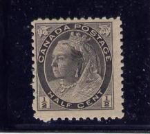 """CANADA, 1897, # 74, QUEEN VICTORIA """" NUMERAL ISSUE""""  MNH  FINE - 1851-1902 Règne De Victoria"""