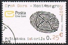 Montenegro 2007 Definitive 25c Good/fine Used - Montenegro
