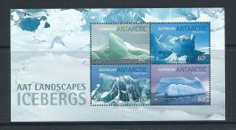Australian Antarctic Territory 2011 Iceberg Miniature Sheet MNH - Australisches Antarktis-Territorium (AAT)