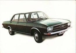 ! Werbekarte Audi 100 LS, Automobil, PKW, Auto Union, Ingolstadt, Car, Voiture, KFZ, Automobile - Cars