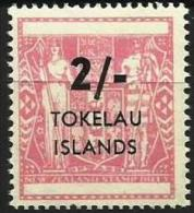 Tokelau - 1966 New Zealand Fiscal Type Surcharged 2/- MNH **  SG 8  Sc 8 - Tokelau
