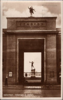 ! Alte Ansichtskarte Kobenhavn, Kopenhagen, Copenhagen, Olympia Stadion, Stadium, 1929, Dänemark, Danmark, Denmark - Estadios