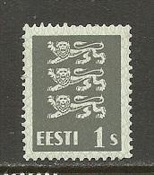 ESTLAND Estonia 1940 Michel 164 W MNH - Estland