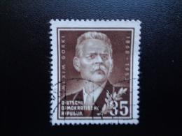 Allemagne 1953 N°90 Oblitéré Maxime Gorki - Usati
