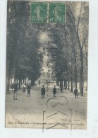 Avallon (89) : La Promenade Des Platanes En 1906 (animé)PF. - Avallon