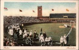 ! Alte Ansichtskarte Amsterdam, Olympia Stadion, Stadium, - Olympische Spiele