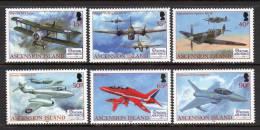 ASCENSION. 2008 RAF 90th ANNIVERSARY SET MNH. - Ascensione