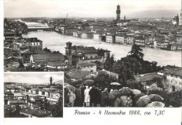 FIRENZE - 4 NOVEMBRE 1966. ALLUVIONE. VIAGGIATA IL 26/01/1967 - Firenze (Florence)