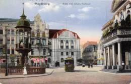 Bg18459 Maddeburg Tramway Neues Rathaus Germany - Magdeburg