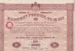Action ETOILE ROUMAINE 500 Lei  . Société  Anonyme Pour L´Industrie Du Pétrole - Pétrole