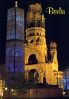 Berlin Kaiser Wilhelm Gedâchtniskirche - Eglise Du Souvenir - Allemagne