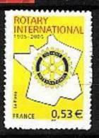 2006-N°3750A**.ROTARY-CLU         B.  AUTOADHESIF N°52 - Neufs