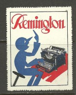 Reklamemarke REMINGTON MNH - Erinnophilie