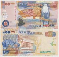 Zambia 50000 Kwacha 2012 Pick 48h UNC - Zambie
