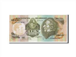 [#108872] Uruguay, 100 Nuevos Pesos Type Artigas - Uruguay